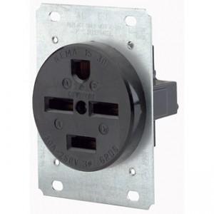 Leviton 8430 Industrial Grade Power Receptacles 30 Amp, 250 Volt ...