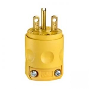 Leviton 615pv Plug 15 Amp 250 Volt Lev 615pv Plugs 5 03 Emi Supply Inc