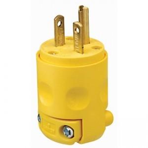 Leviton 620pv Plug 20 Amp 250 Volt Lev 620pv Plugs 4 74 Emi Supply Inc