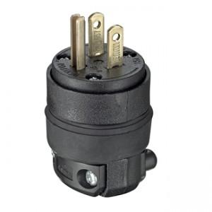 Leviton 515pr Plug 15 Amp 125 Volt Lev 515pr Plugs 2 39 Emi Supply Inc