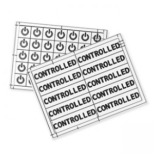 Leviton CRLAB Sticker Label Multi-Pack, 70 Decals Per Pack