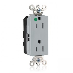Leviton m1626 ilg modular duplex decora receptacle 15 amp for Modular duplex prices