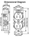 Leviton 5252-W Industrial Series Heavy Duty Grade Duplex