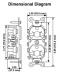 Leviton 5844 Commercial Grade Duplex Receptacle, 20 Amp