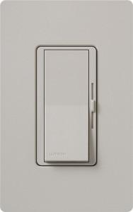 Lutron DVSCSTV-TP Diva 0-10v Fluorescent Dimmer, Single