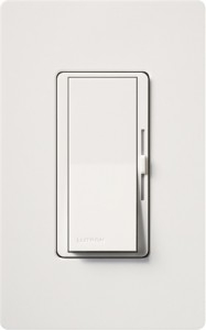 Lutron Dvw 600ph Wh Diva Dimmer With Locator Light And