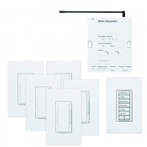 Lutron RR-FDN-ADAPT-WH RadioRA 2 Foundation Package [LUT