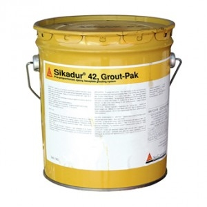 Sikadur 42 3-Component Grout-Pak, 0 5 cu  ft  kit [SIKA