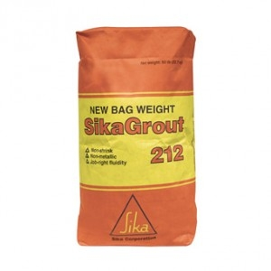 SikaGrout 212 Non-Shrink Grout, 50lb [SIKA-90824] : Concrete