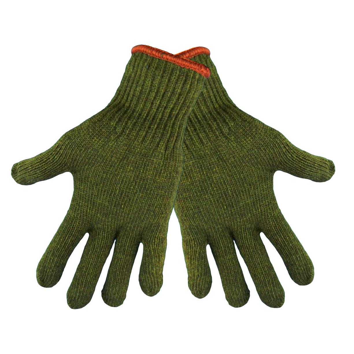 EMI Supply, Inc : Global Glove S77RW Medium Weight, Army Green, Rag Wool Gloves, Large, 12PK ...