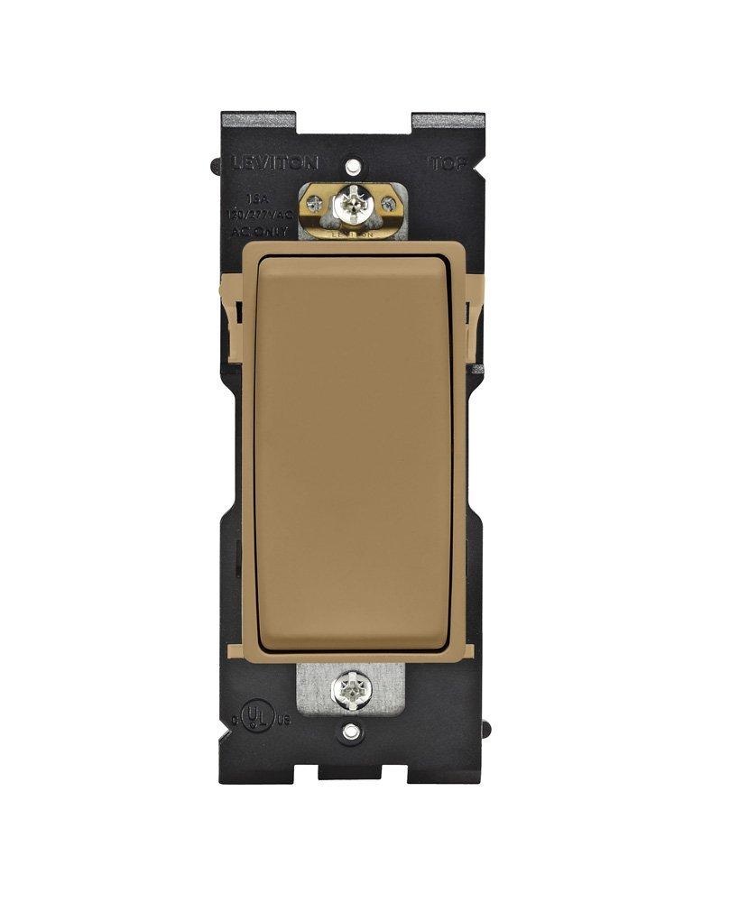 EMI Supply, Inc : Leviton RE151-WC Renu Switch, 15 Amp, 120/277 Volt, Warm Caramel [LEV-RE151-WC ...