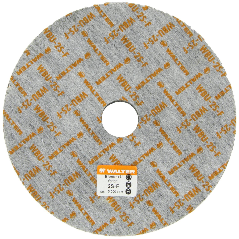 EMI Supply, Inc : Walter 07U611 BLENDEX U Wheel 6u0026quot; x 1u0026quot; x 1u0026quot; 2SF Grade [WAL-07U611] - $61.67 ...